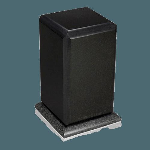 Grande Nero Absoluto Marble Cremation Urns