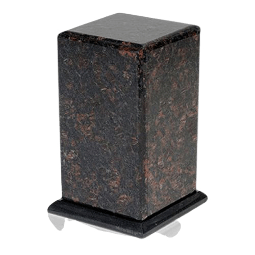 Grande Tan Brown Granite Cremation Urn