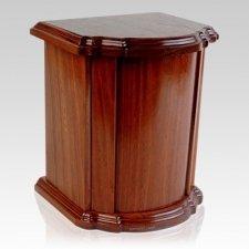 Grande Wood Cremation Urn