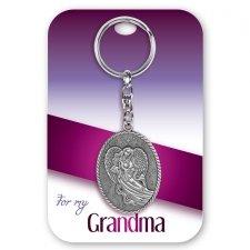Grandma Angel Keychain