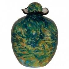 Grange Glass Cremation Urn