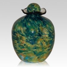 Grange Glass Cremation Urn