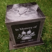 Granite Photo Pet Urn