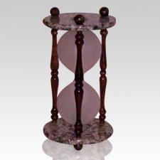 Hourglass Granite Keepsake Urn