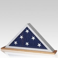 Granitone Oak Flag Display Case