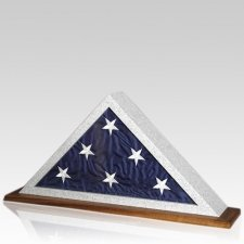 Granitone Walnut Flag Display Case