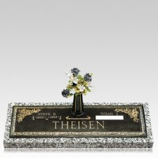 Grave Marker Dates Plaque