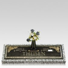 Grave Marker Full Date Plaque
