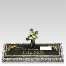 Grave Marker Name & Dates Plaque