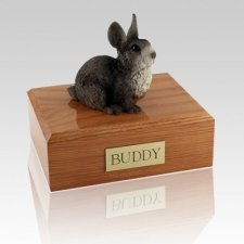 Gray X Large Bunny Cremation Urn