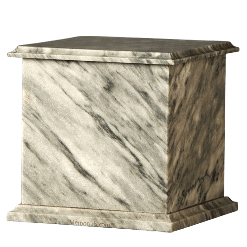 Gray Ivory Eternity Marble Cremation Urn