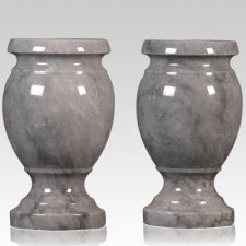 Gray Small Marble Vase
