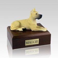Great Dane Fawn Large Dog Urn