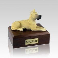 Great Dane Fawn Medium Dog Urn
