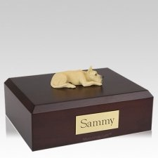 Great Dane Fawn Resting X Large Dog Urn