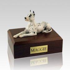 Great Dane Harlequin X Large Dog Urn