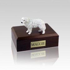 Great Pyrenees Small Dog Urn