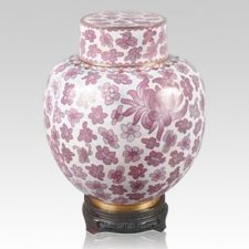 Great Wall Pink Cloisonne Keepsake Urns