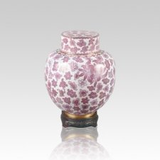 Emperor Pink Small Cloisonne Urn