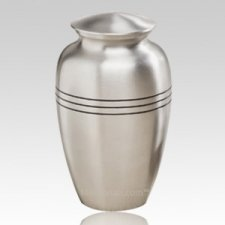 Grecian Silver Keepsake Urn