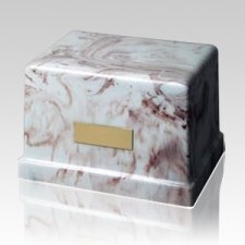 Moderno Rustic Marble Cremation Urn