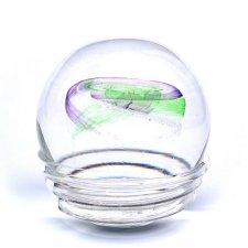 Green & Purple Galactic Memory Glass Keepsakes