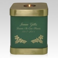 Green Candle Cremation Urn
