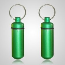 Green Cremation Keychains