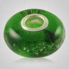 Green Elegance Cremation Ash Bead