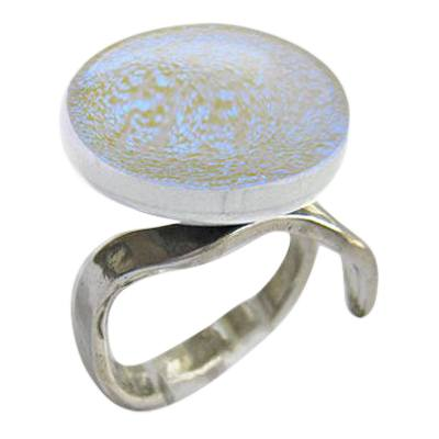 Green Eternity Ashes Ring