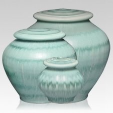 Green Grass Cremation Urns