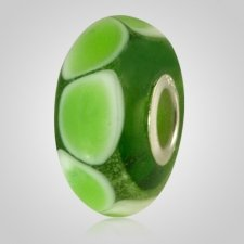 Green Harmony Cremation Ash Bead