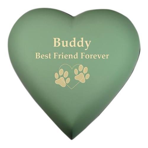 Green Heart Pet Cremation Urn