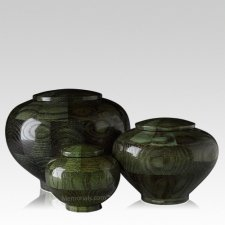 Green Wood Cremation Urns