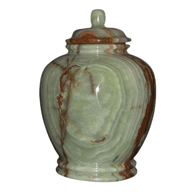 Green Classic Onyx Cremation Urn
