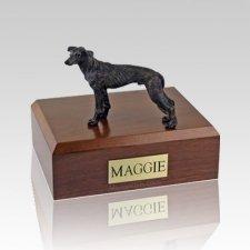 Greyhound Brindle Large Dog Urn