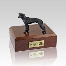 Greyhound Brindle Medium Dog Urn