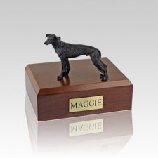 Greyhound Brindle Small Dog Urn