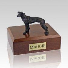 Greyhound Brindle X Large Dog Urn