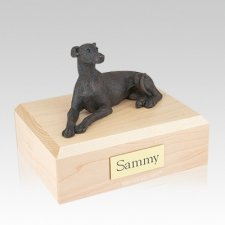 Greyhound Bronze Large Dog Urn