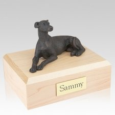 Greyhound Bronze Dog Urns