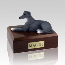 Greyhound Grey X Large Dog Urn
