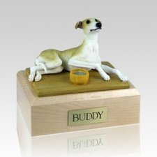 Greyhound Tan Dog Urns