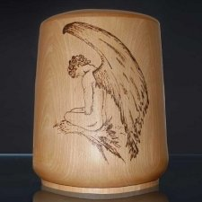 Guardian Wood Cremation Urn