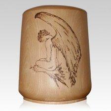 Guardian Wood Cremation Urn