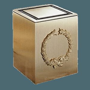 Guardian Wreath Bronze Cremation Urn