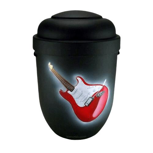 Guitar Biodegradable Urn
