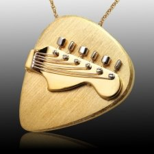 Guitar Cremation Pendant