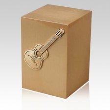 Guitarrista Bronze Cremation Urn