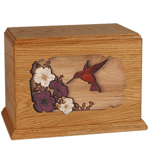 Hummingbird Mahogany Companion Urn